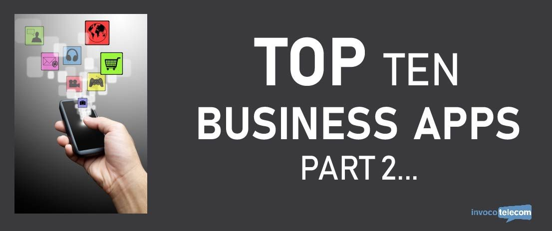 Top Ten Business Apps Part 2 Header