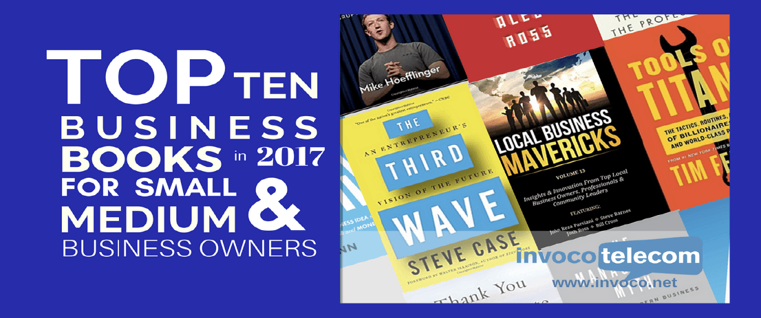 Top 10 Business Books in 2017 for Small & Medium Business Owners header