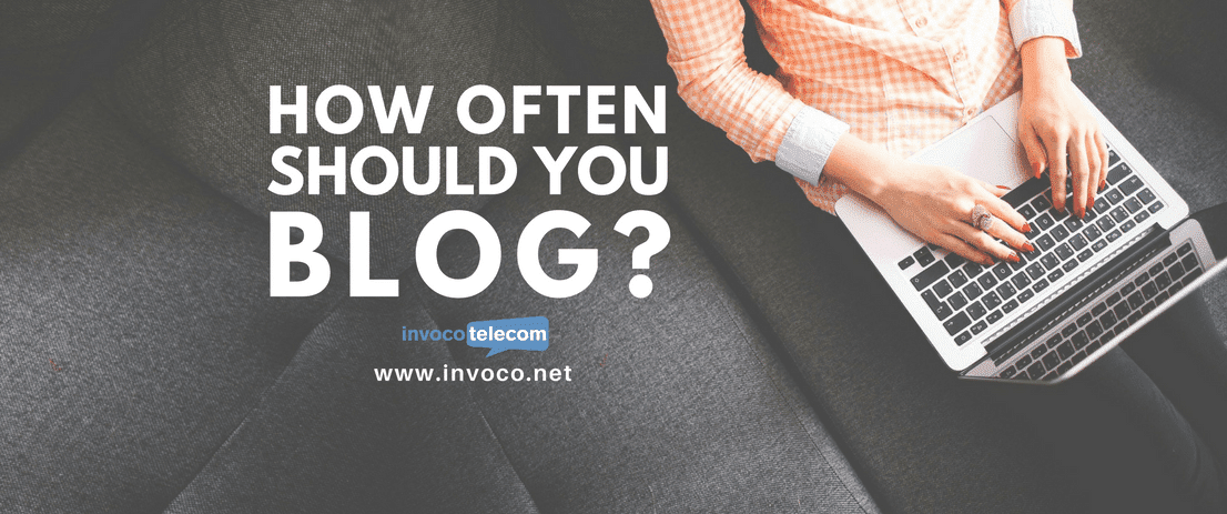 How often should you blog? Banner