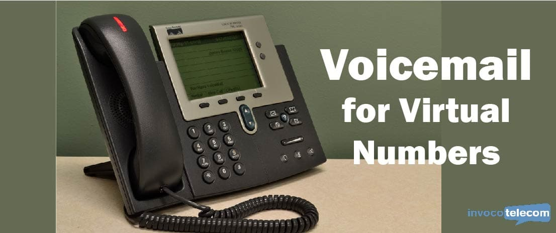 Voicemail for Virtual Numbers Header