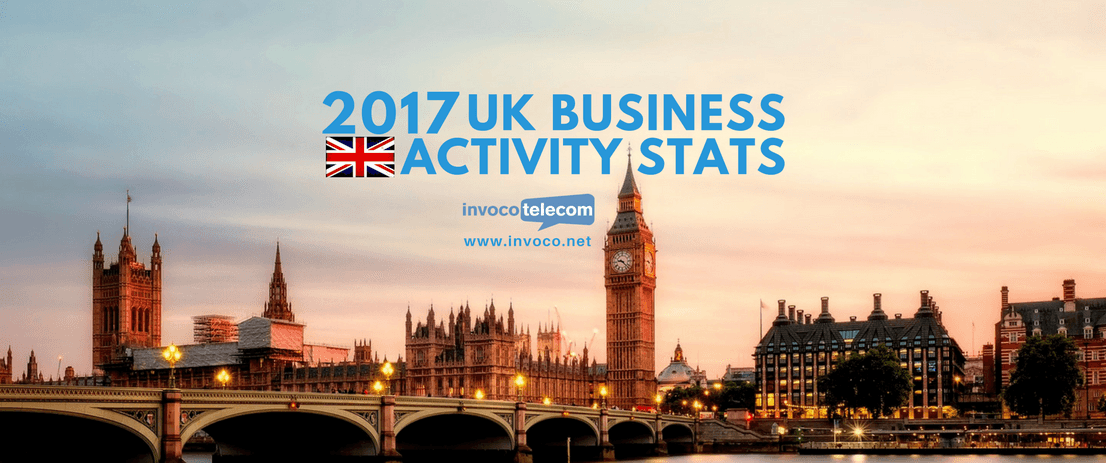 2017 UK Business Activity Stats Banner