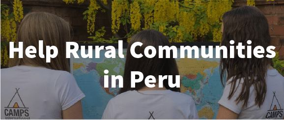 Helping rural communities in Peru